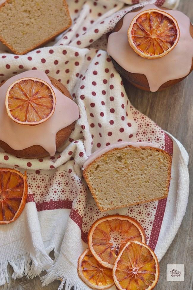 Bizcochos de Melocotón y Naranja Sanguina | CON HARINA EN MIS ZAPATOS