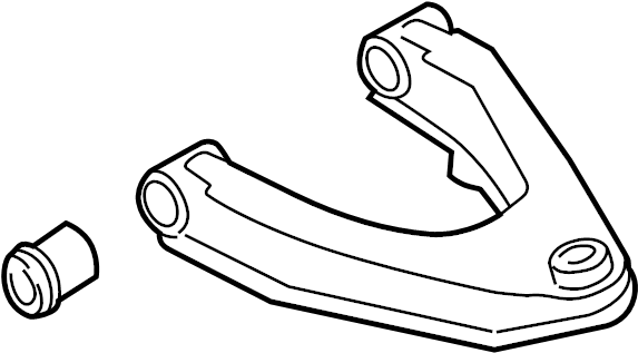 Nissan Xterra Suspension Control Arm (Right, Front, Upper