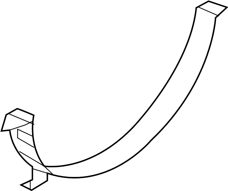 Nissan Titan Engine Cooling Fan Shroud (Lower). RADIATOR