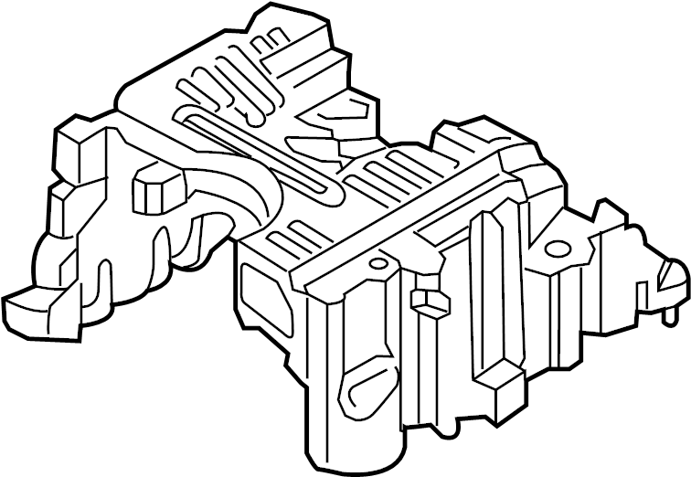 Nissan Titan Engine Intake Manifold. EXHAUST, COVER