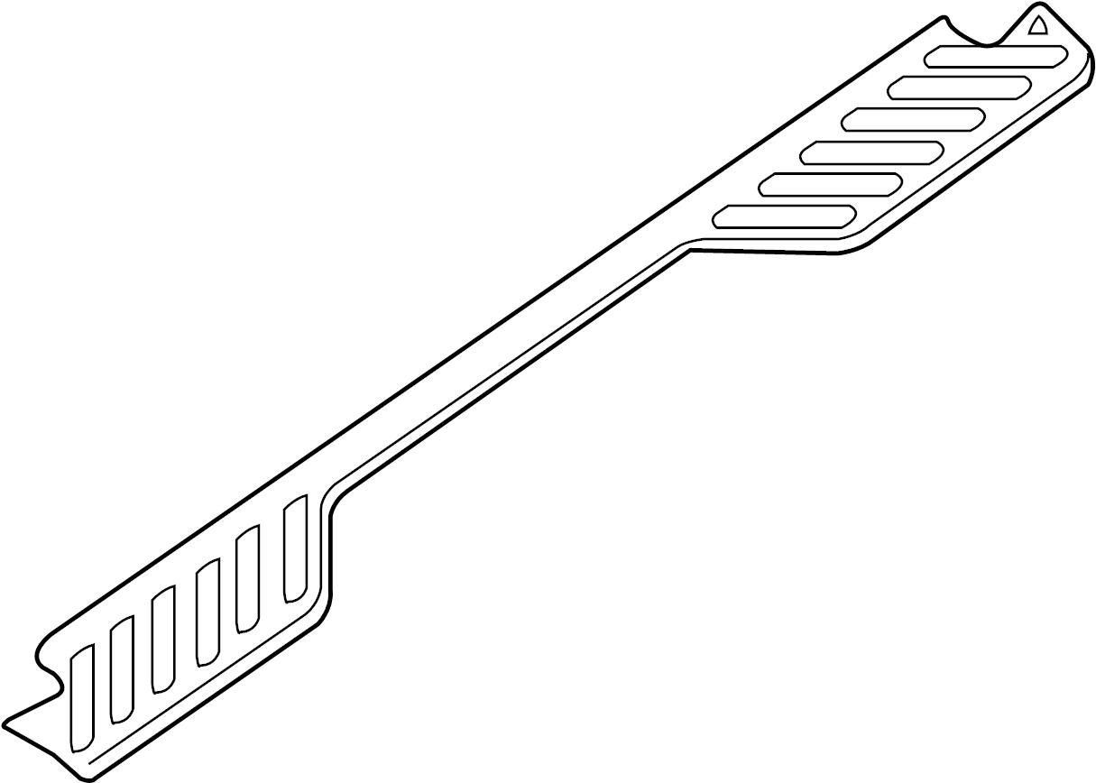 Nissan Frontier Bumper Step Pad Right Rear Upper Pro