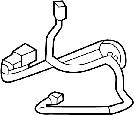Nissan Rogue Headlight Wiring Harness. System, HEADLAMP