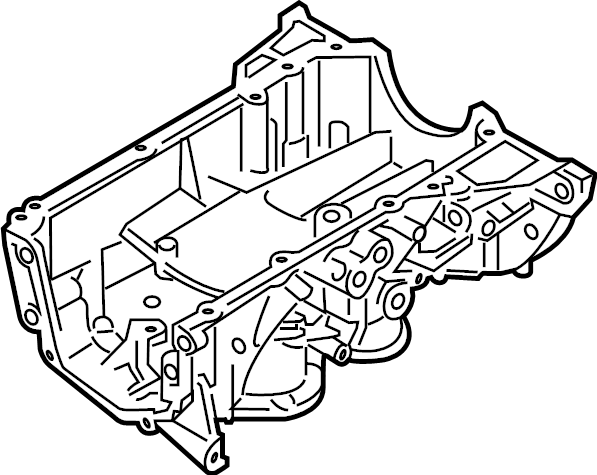 Nissan Versa Engine Oil Pan. MEX, ASSEMBLY, COMPONENT