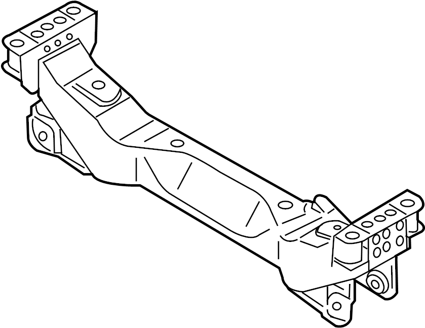 Nissan 350Z Suspension Subframe Crossmember (Front). LINK