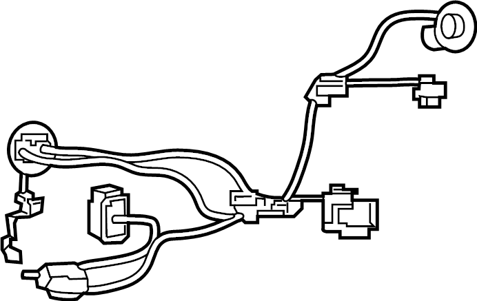 Nissan Sentra Headlight Wiring Harness. ISRAEL, FED, CAL