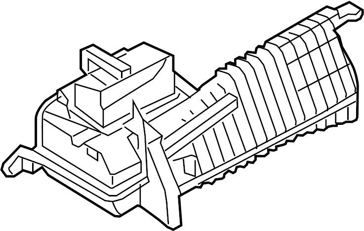 Nissan Armada Engine Air Intake Resonator. CLEANER, DUCT