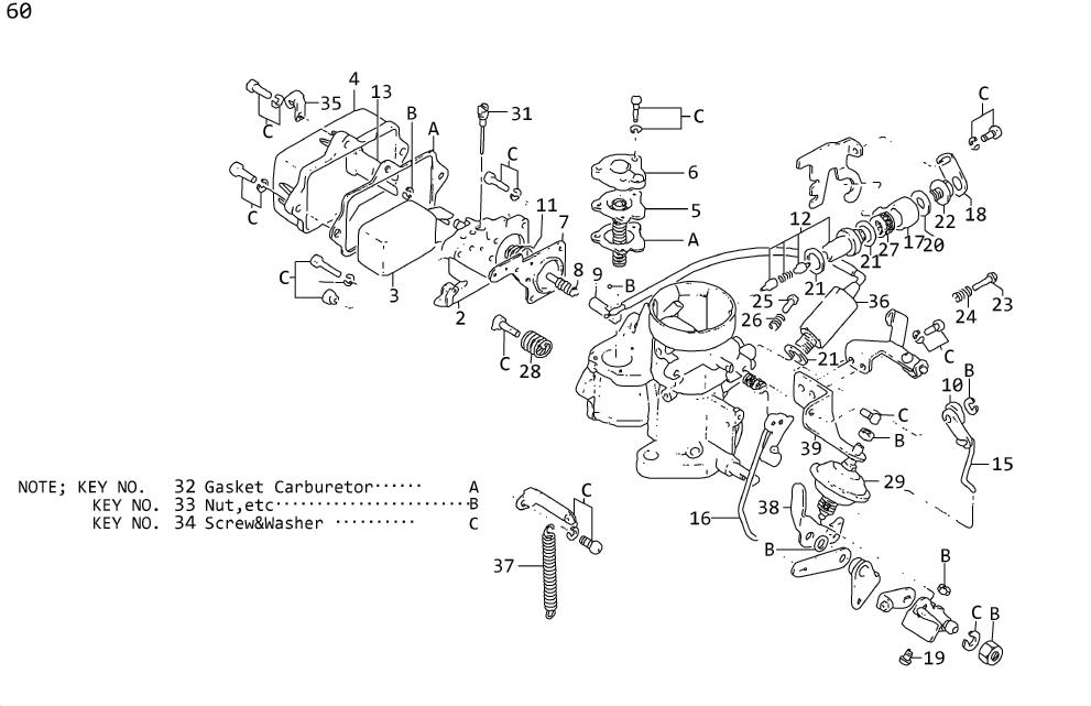 Nissan Stanza Cap Rubber (BCDD). Plug Drain. Screw Set