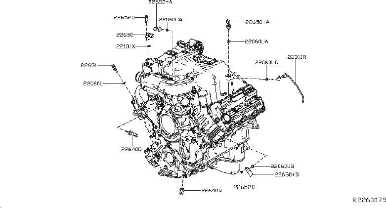 Nissan Titan Sensor Pressure. ENGINE, CONTROL, MODULE