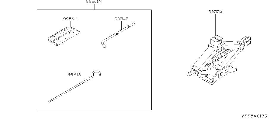 Nissan Sentra Multi Purpose Tool Set. KIT, MANUAL