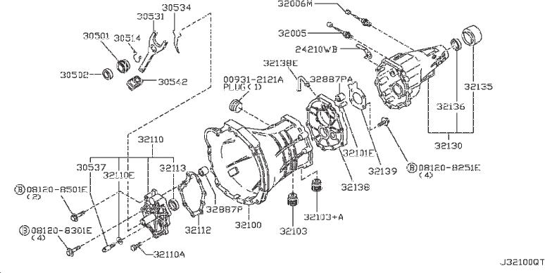 Nissan Frontier Sleeve Coupling. REF, README, SHOWN