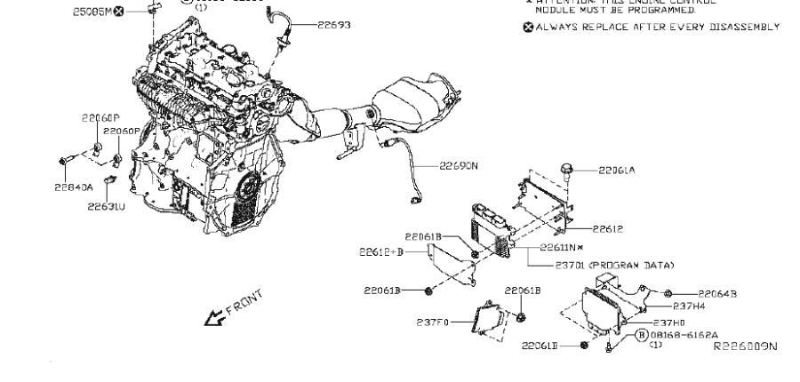 Nissan Altima Engine Coolant Temperature Sensor