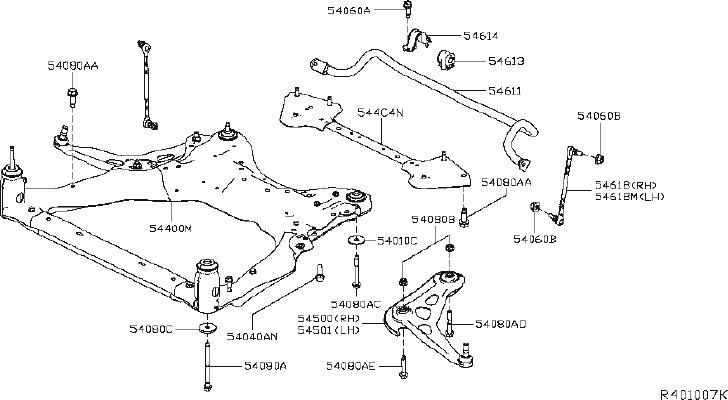 Nissan Altima Coil Spring Insulator (Front, Lower). STRUT