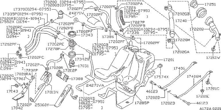 Nissan 300ZX Cushion. Protector Flat Wire. Protector Radio