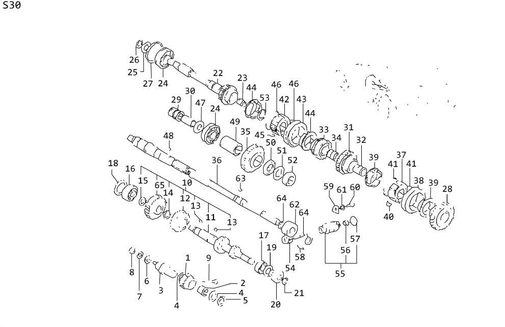 Datsun A10 Spring Shifting Insert. Spring Speed. Spring