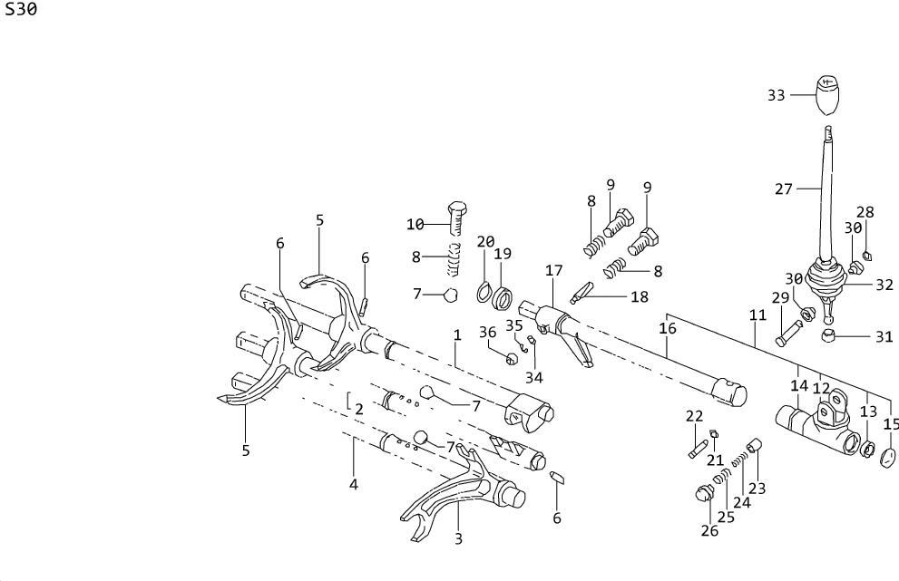 Nissan 240SX Nut Lock Pin. Washer PLAIN. Washer Spring