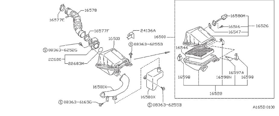 Nissan Stanza Air Charge Temperature Sensor. CLEANER
