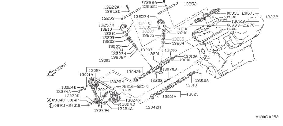 Nissan Pathfinder Engine Timing Belt Tensioner Pulley