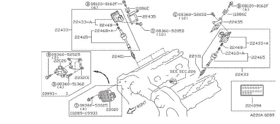 Nissan 300ZX Ignition Control Module. MITSUBISHI, HITACHI
