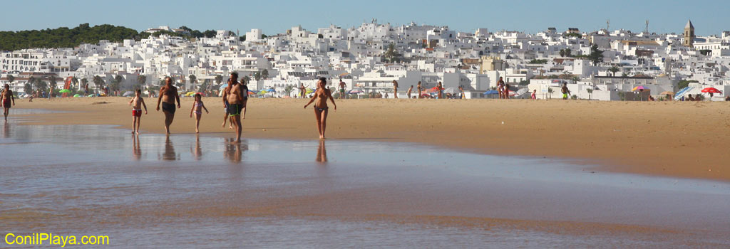 Playa de Castilnovo Conil de la Frontera Cadiz Andalucia