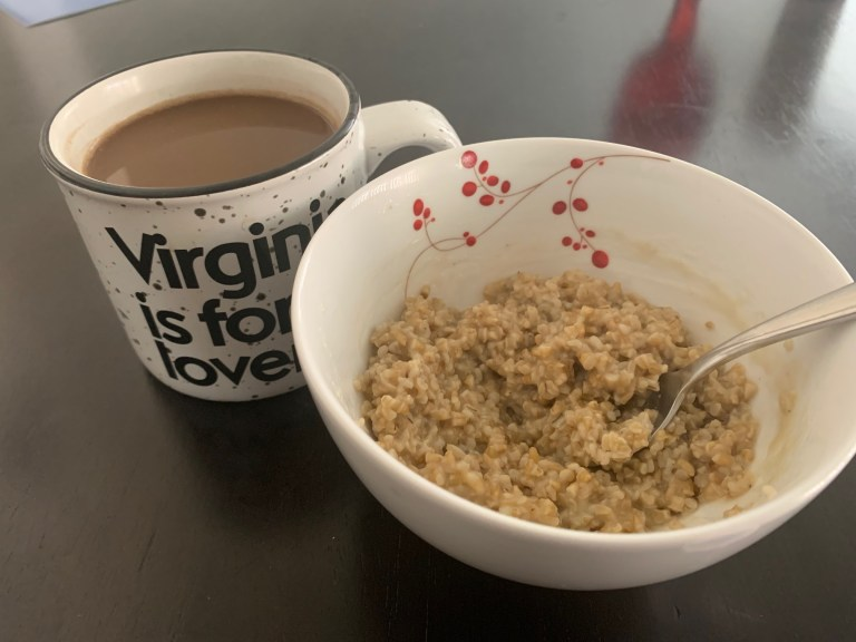 coffee-and-oatmeal