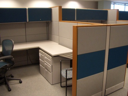 Herman Miller Ethospace Used Cubicles  Conklin Office