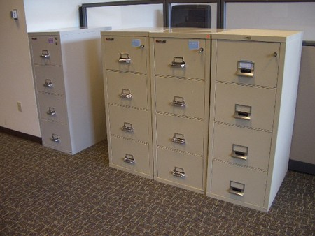 Used Fireproof Filing Cabinets and Filing Cabinets