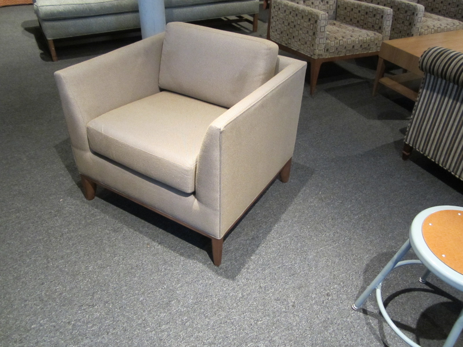 bernhardt london club leather sofa price where to buy sectional sofas chairs conklin office furniture