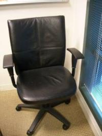 Steelcase Turnstone Leather Chairs