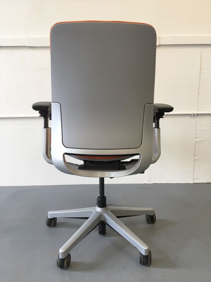 Steelcase Amia Task Chair  Orange  C61155C  Conklin Office Furniture