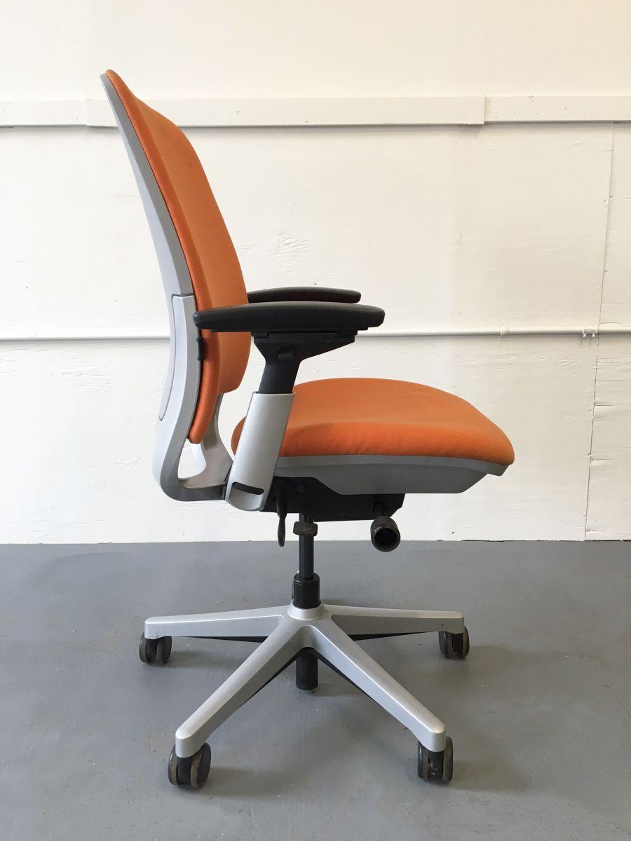 steelcase amia chair brochure cover rentals red deer task orange c61155c conklin office furniture