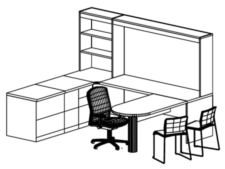 Used Steelcase Desk Sets and Office Desks available