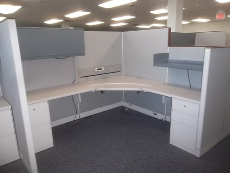 Steelcase 9000 Enhanced Workstations Conklin Office