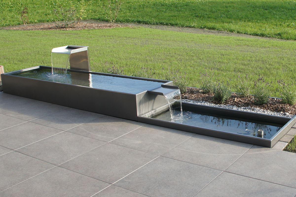 Brunnen Spezial Pulverbeschichtet Conma Gartendesign