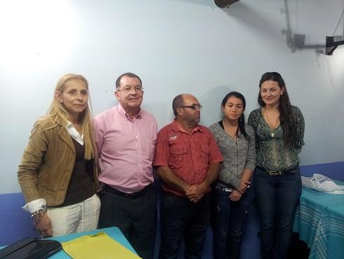 De izquierda a derecha: Rudis Martínez, Aldemar Zapata, Gonzalo Rendón, Lucero Ocampo, Paulina Murillo Éxitos a la nueva Junta.