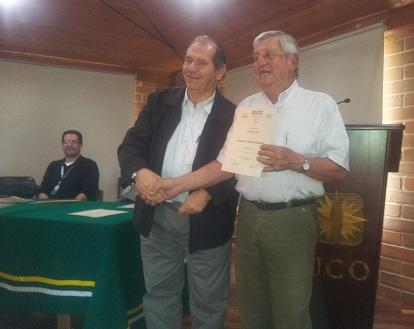 Azael Carvajal Presidente CIPA y Tulio Torres gestor seminario