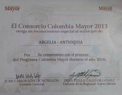 Colombia Mayor Argelia