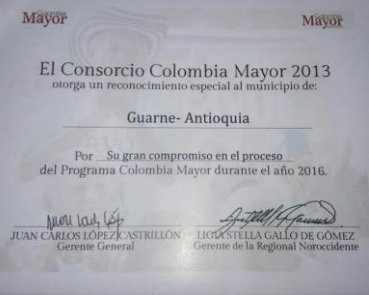 Colombia Mayor Guarne