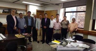 alcaldes con secretario infraestructura