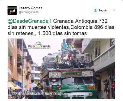Granada en paz
