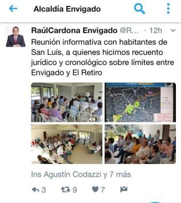 trino alcalde Envigado