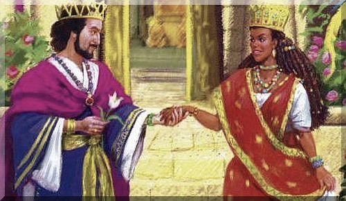 Risultati immagini per regina di saba e re salomone