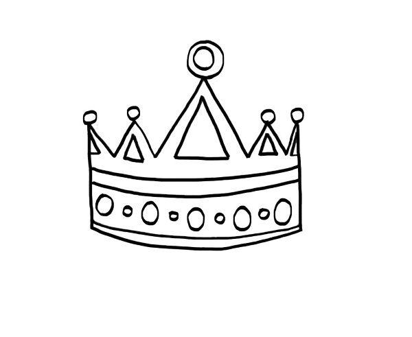 Moldes Coronas De Princesas Para Imprimir