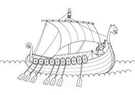 Resultado de imagen de campamento vikingo dibujo