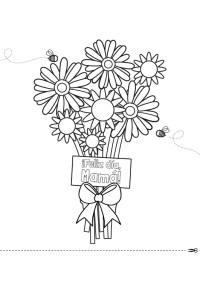 Ramo de flores para el da de la madre: dibujo para ...