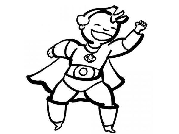 Dibujos Para Colorear De Superman Plantillas Para