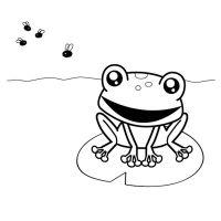 Como dibujar ranas infantiles - Imagui