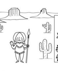 Dibujos Tipis Indios Para Colorear Buscar Con Google Classycloudco