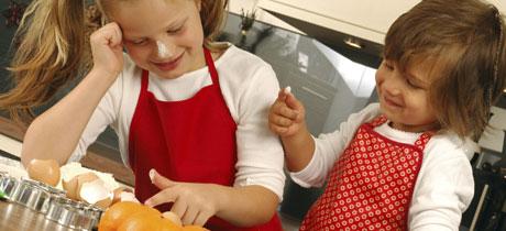 Taller de cocina para nios en Dulce Juanita