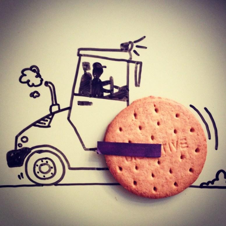 Ilustraciones en instagram de Desayunos Creativos realizados por Fernando Sánchez -