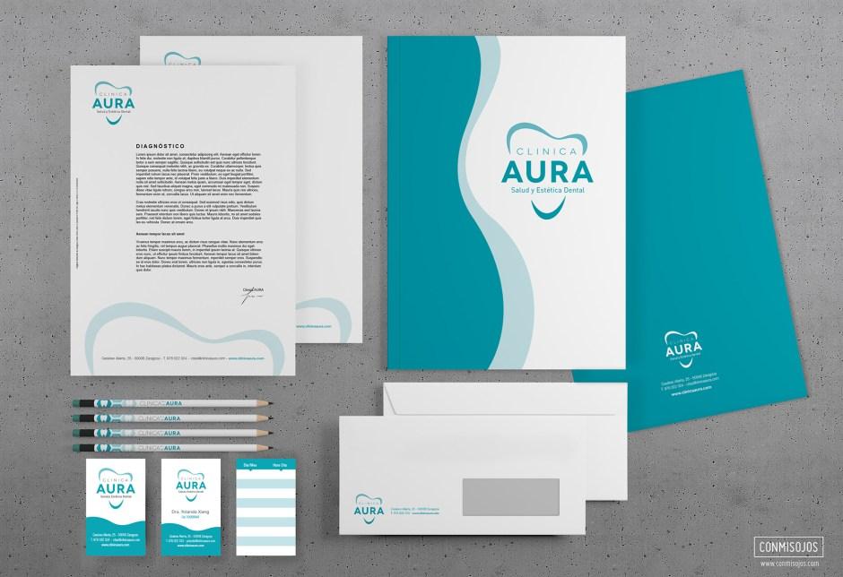 Clinica dental Aura - Zaragoza diseño conmisojos